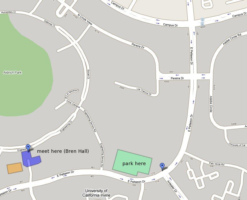 Uc Irvine Map Karamba